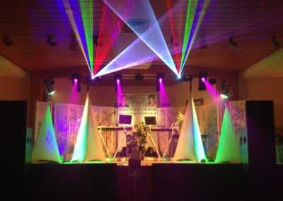 Bühne groß